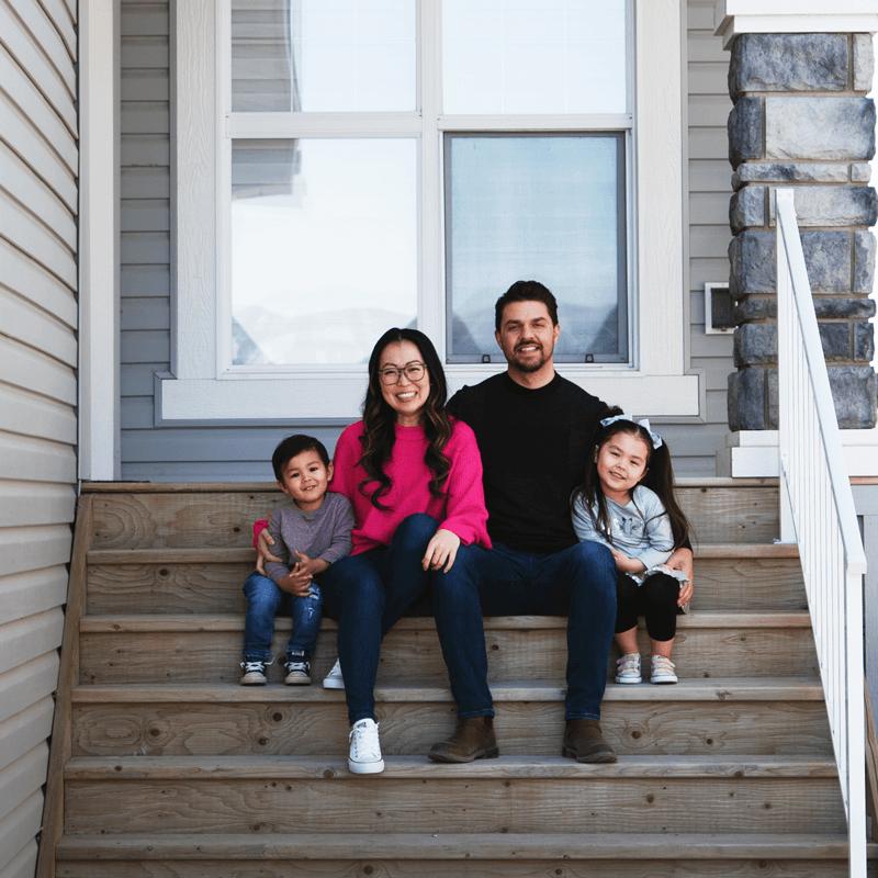 Families on Doorsteps, Saskatoon Edition - Photograph