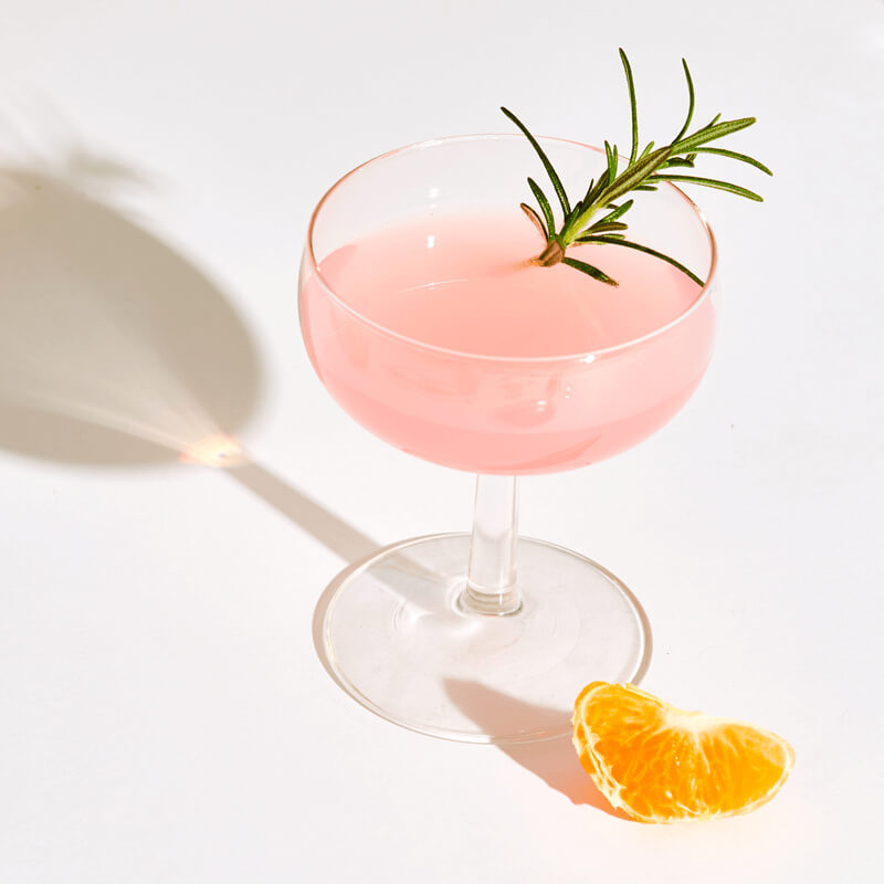 Relax with These Easy Cannabis-Infused Gin Cocktails - Cocktail garnish