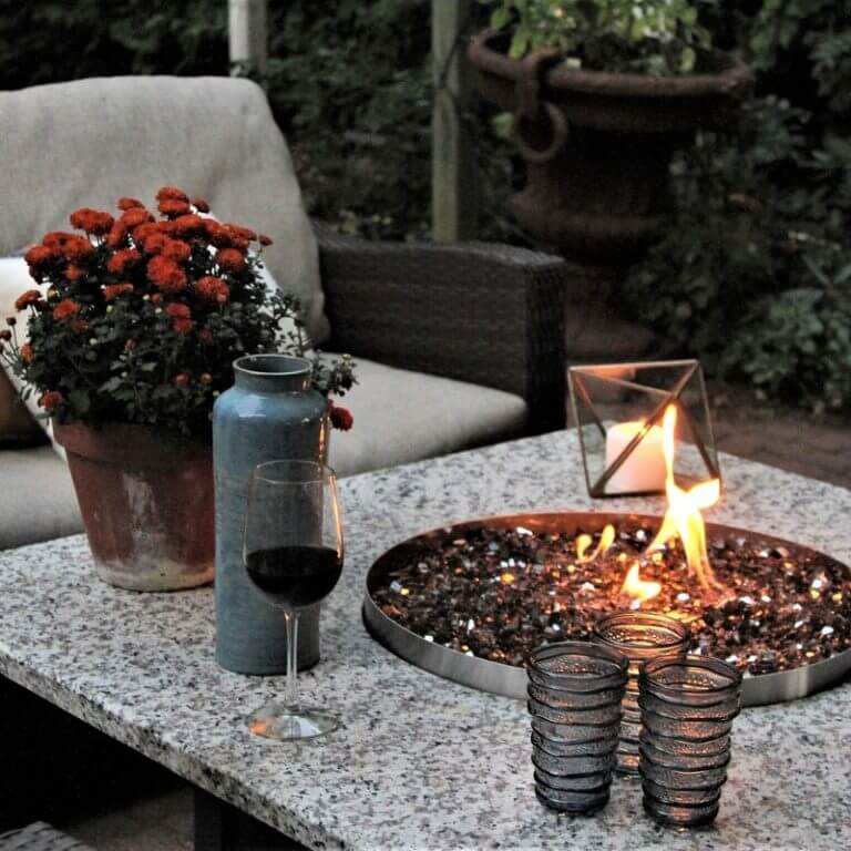 Create Your Outdoor Oasis - Table
