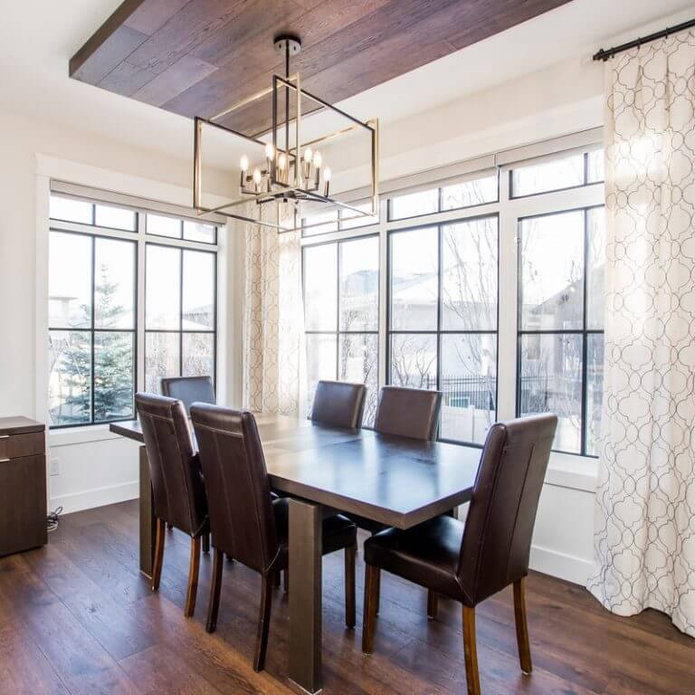 Build New or Renovate? - Dining room