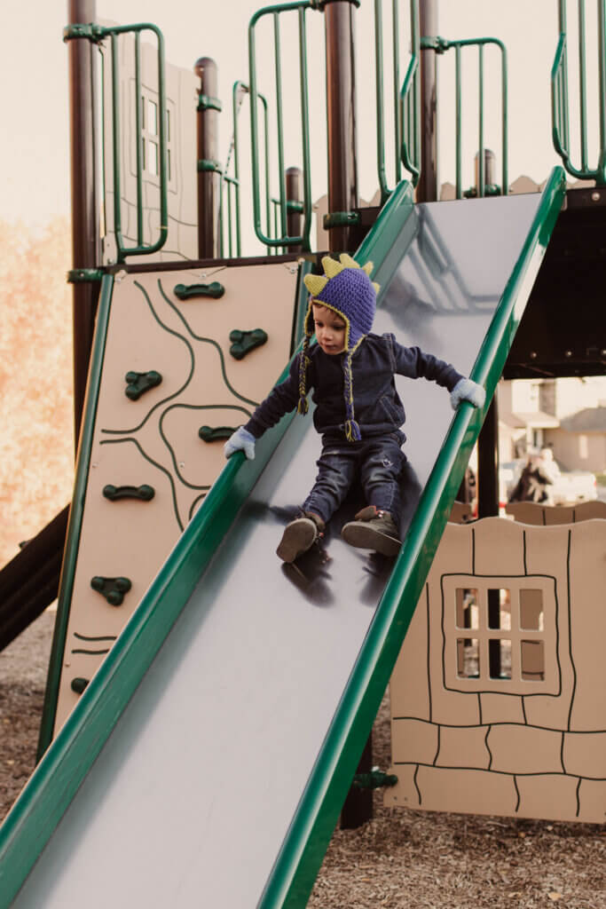 Maygen Kardash gives advice on getting kids out into the cold