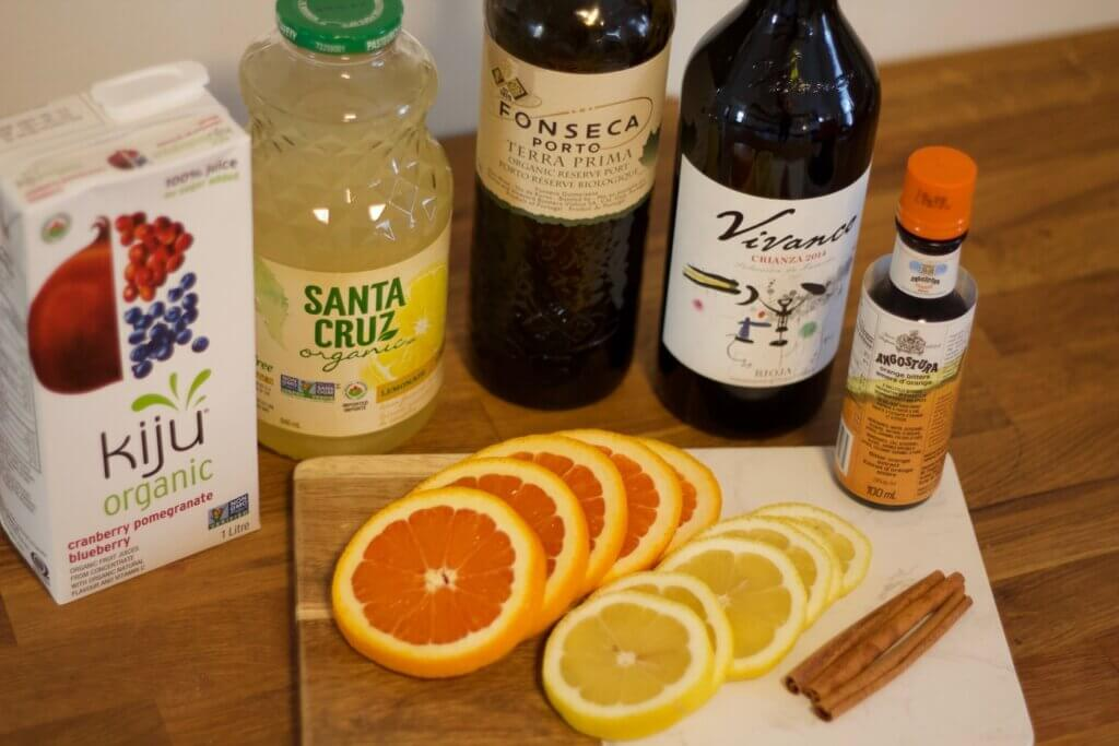 Harvest Sangria recipe ingredients Toast magazine