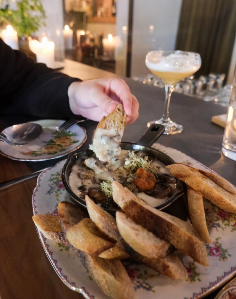 Saskatoon, Sask has many great eateries, including the Hearth Restaurant