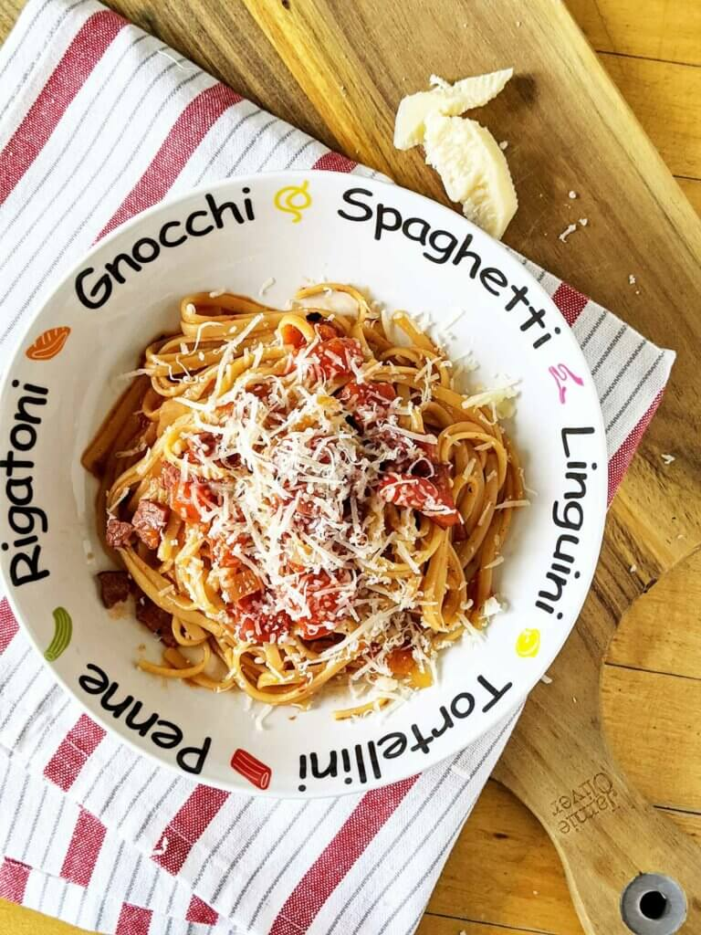 John's Pasta All'Amatriciana