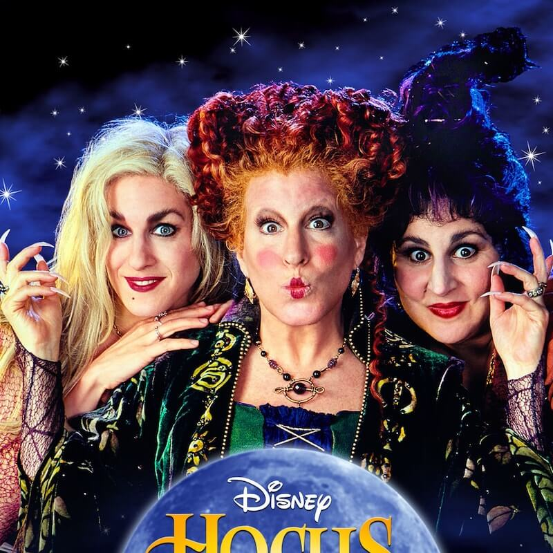 Hocus Pocus is a highly rated Halloween movie