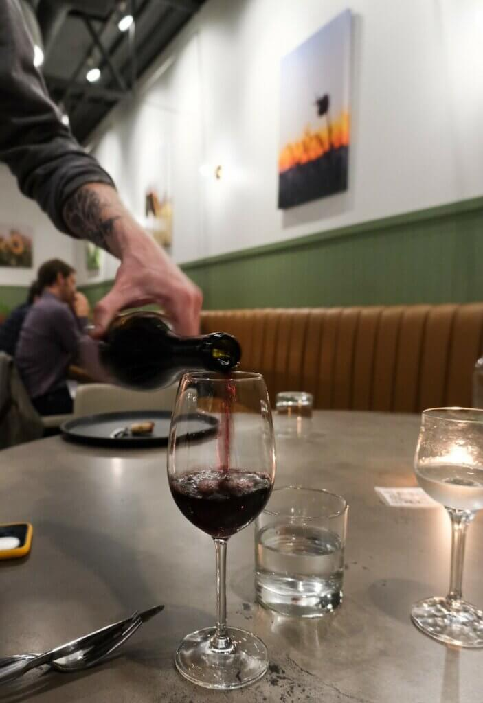 Odla wine in Saskatoon, photo by Darby Sutherland