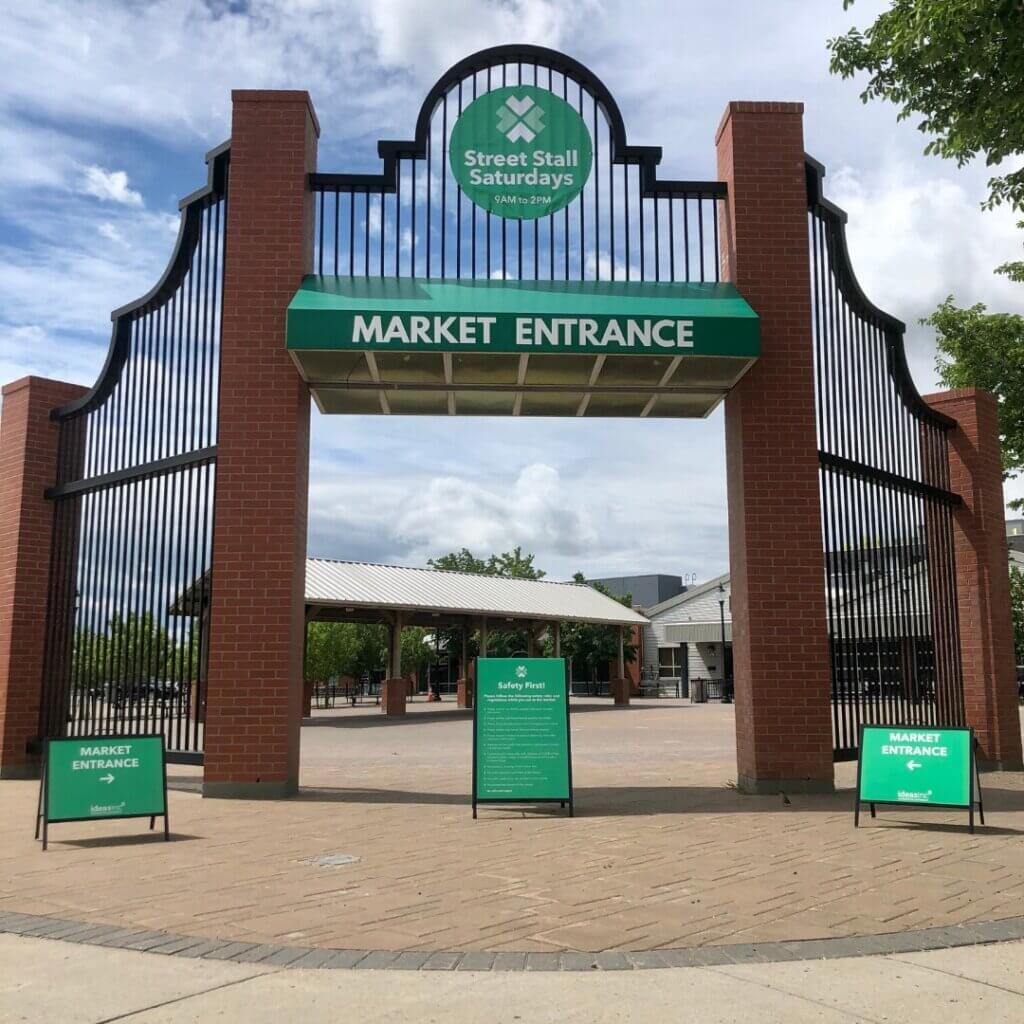 Saskatoon, Sask. offers Saturday Street Stalls for shopping