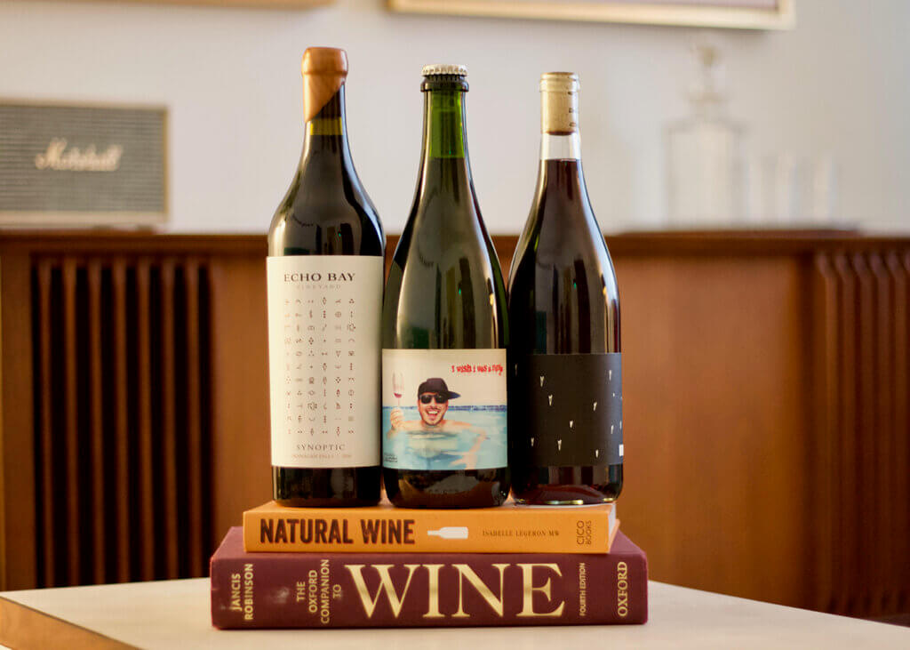 Natural wines are a holiday conversation starter