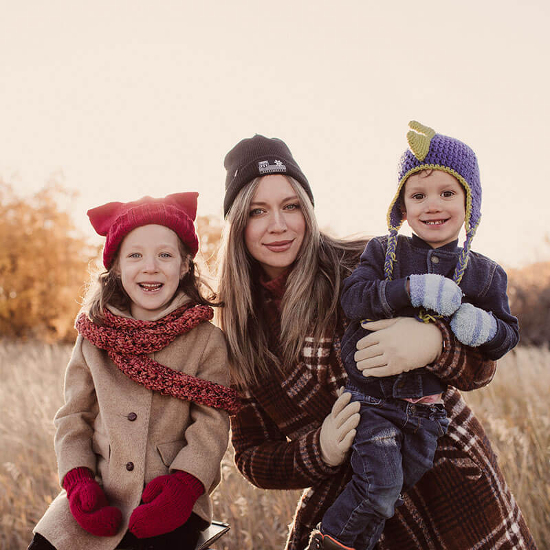 Maygen LKardash has ideas for warming kids up to winter
