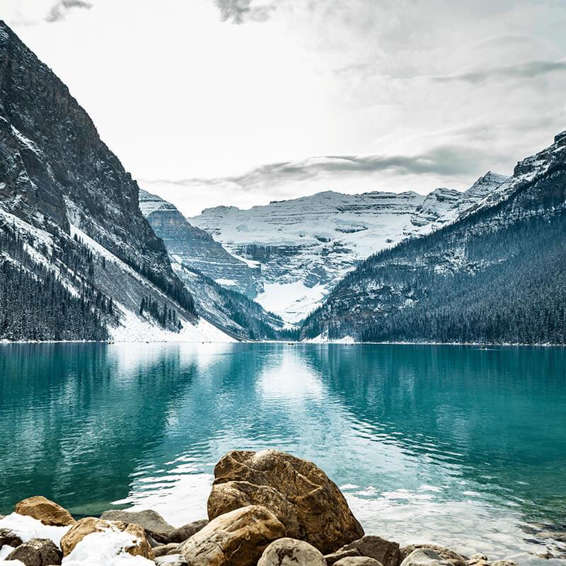 Travel destinations in Alberta