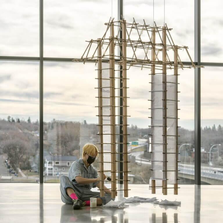 respectfulchild did an art installation at the Remai Modern