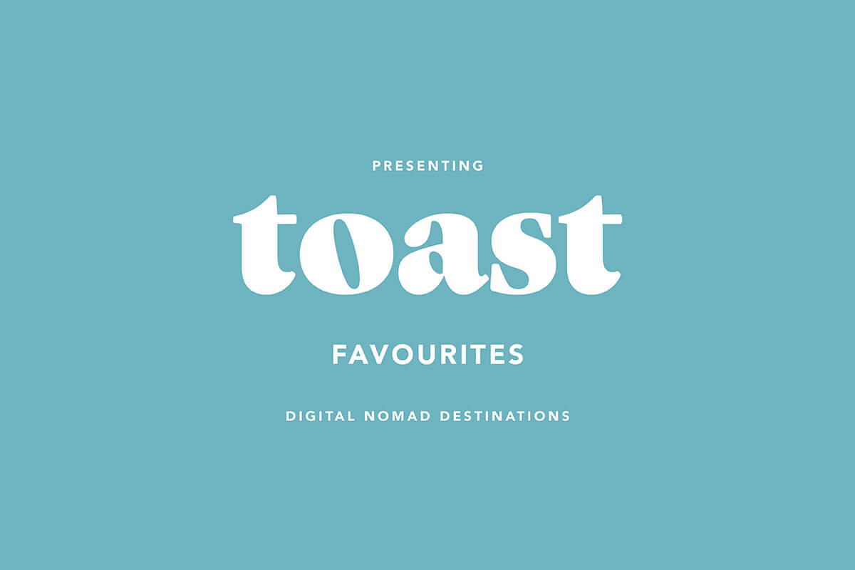 Cover graphic for Toast article, Islands in the Sun