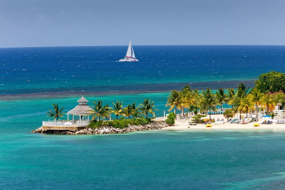 Jamaica's one-love treasures, ocean, beaches and a boat