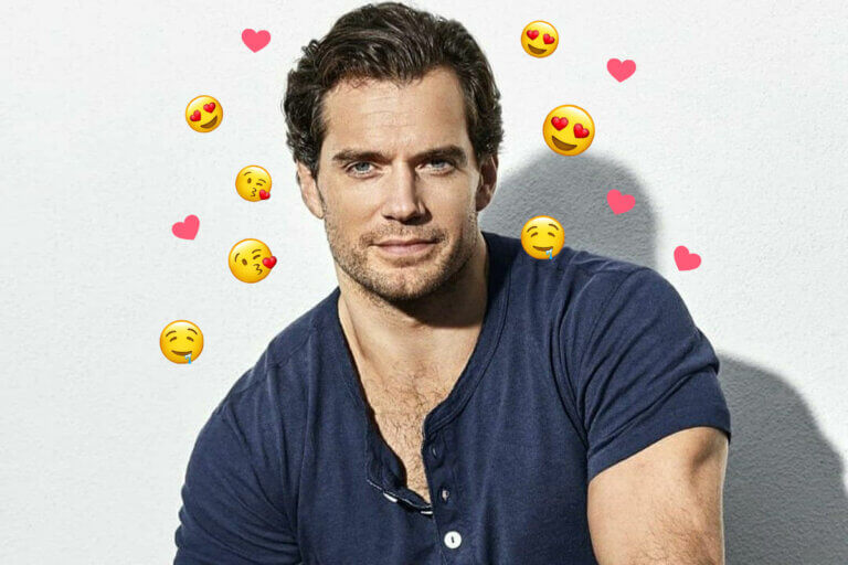 head and shoulders photo of Henry Cavill