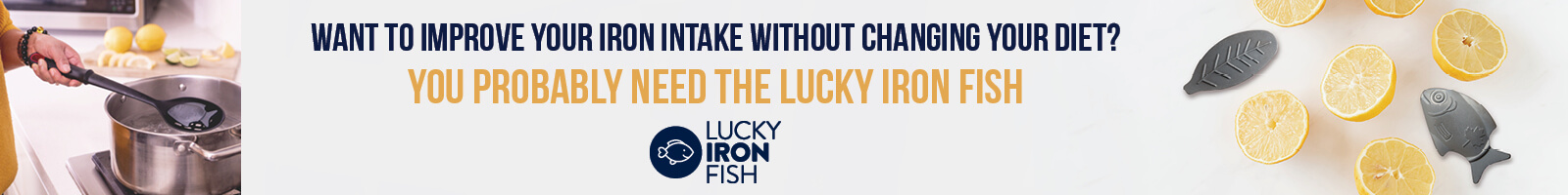 Lucky Iron Fish Banner