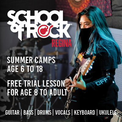 school of rock regina sidebar ad