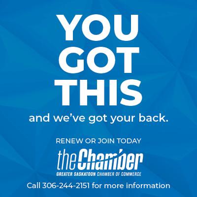 Saskatoon Chamber ad