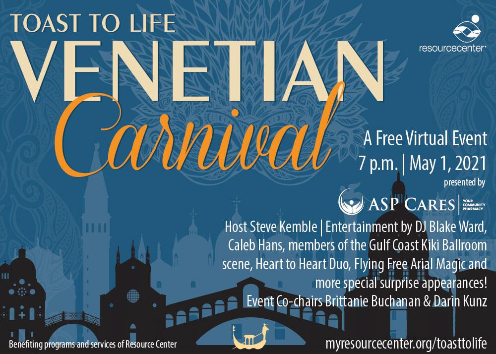 23rd annual Venetian Carnival Dallas Texas