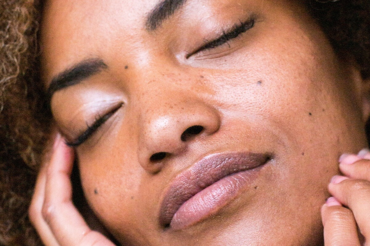 close up of a woman's face, pre-wedding beauty & wellness tips