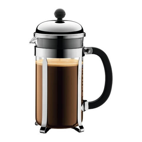 a bodum coffee pot, the perfect coffee maker