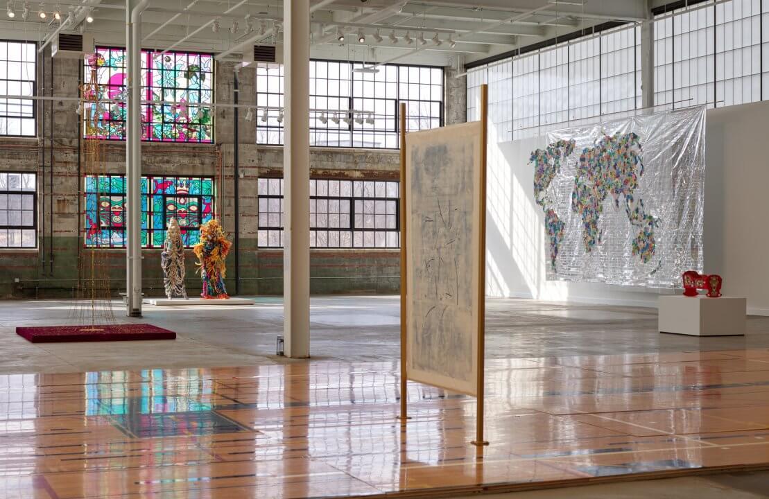 art exhibition communidades visibles buffalo new york