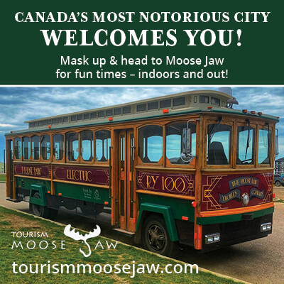 Tourism Moose Jaw ad