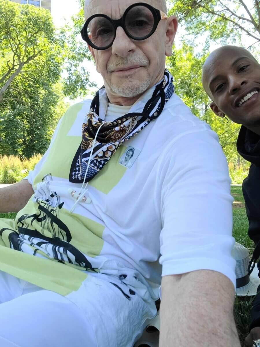 black man and white man, Just John & JP Michaels