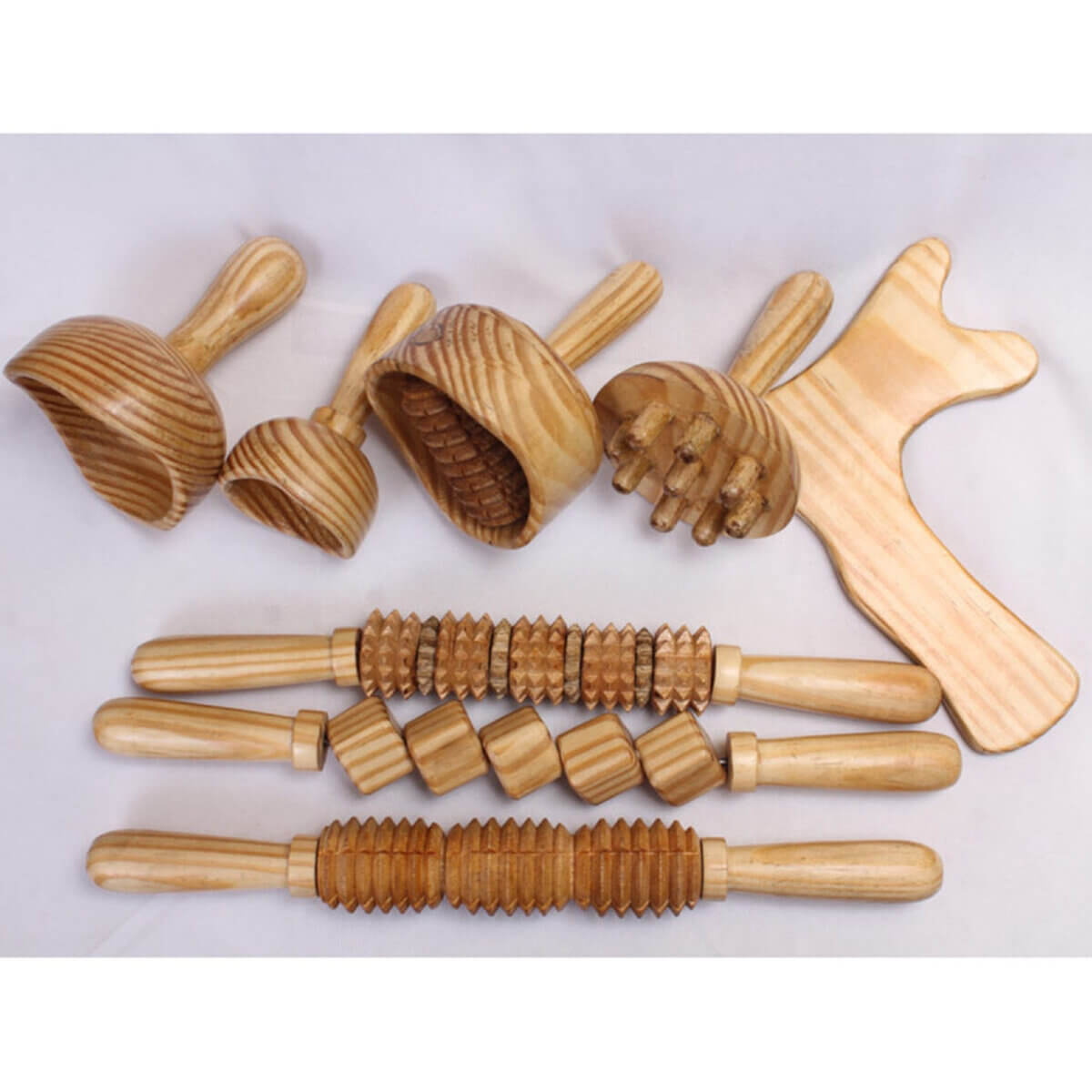 wooden body tools for massage