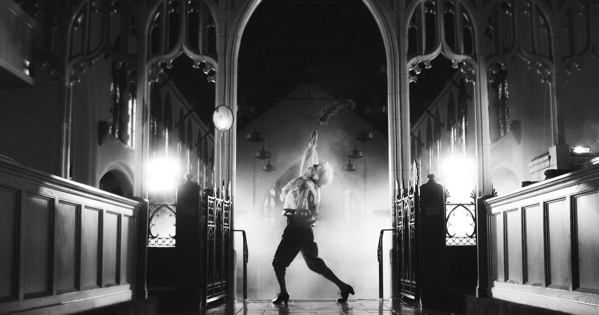 black & white reimagining mozart with SSO & Saskatoon Opera
