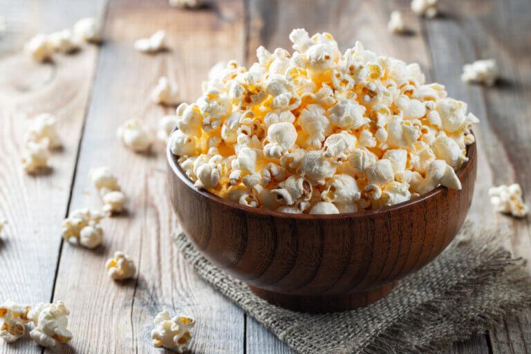 bowl of popcorn for comeback snacks recipe