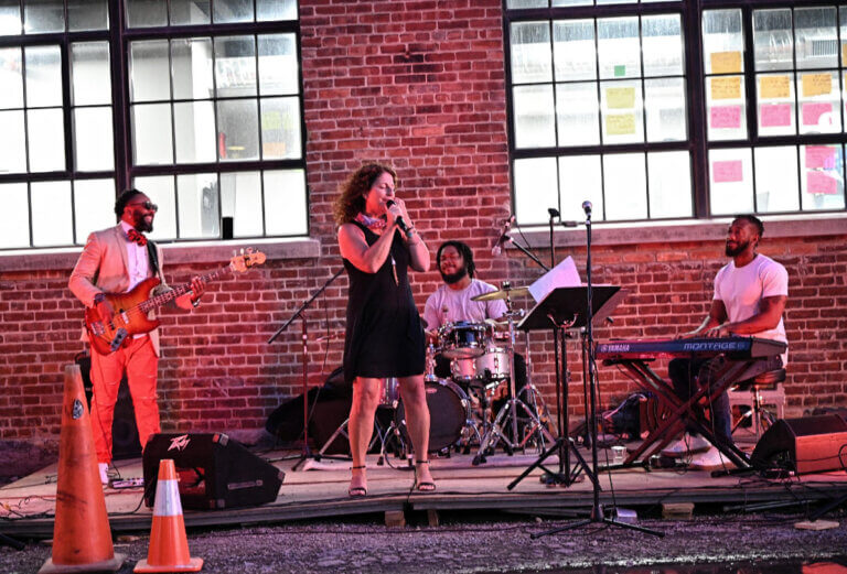 band performing for jazz in buffalo