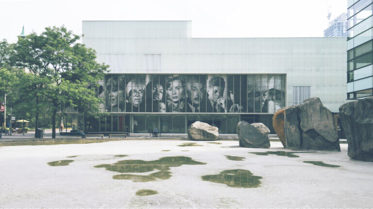 Exterior of Ryerson University facing a name change