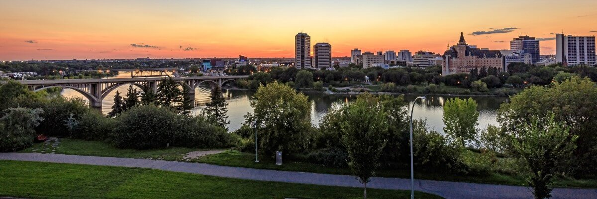 saskatoon at sunset with lots of things to do in june