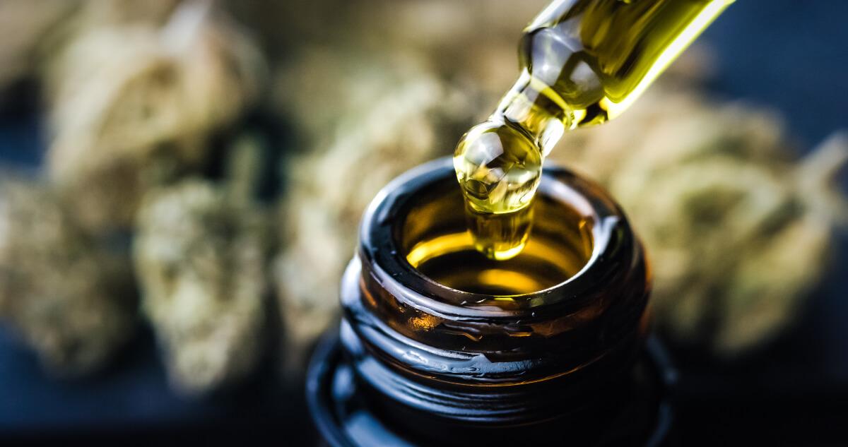 dropper of cbd oil at restart cbd, helping to keep austin weird