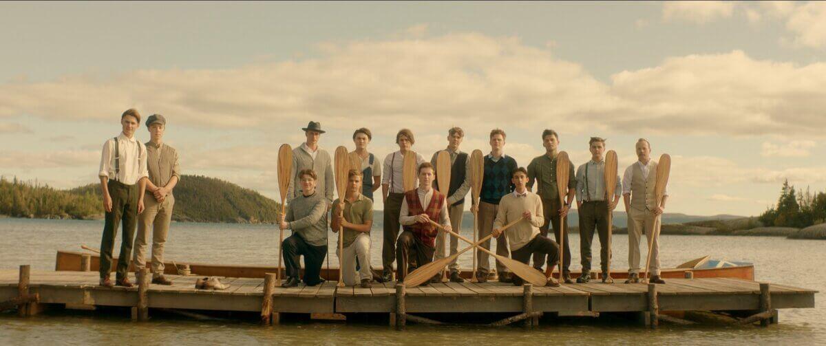 group of teenage boys from 1926 in brotherhood movie