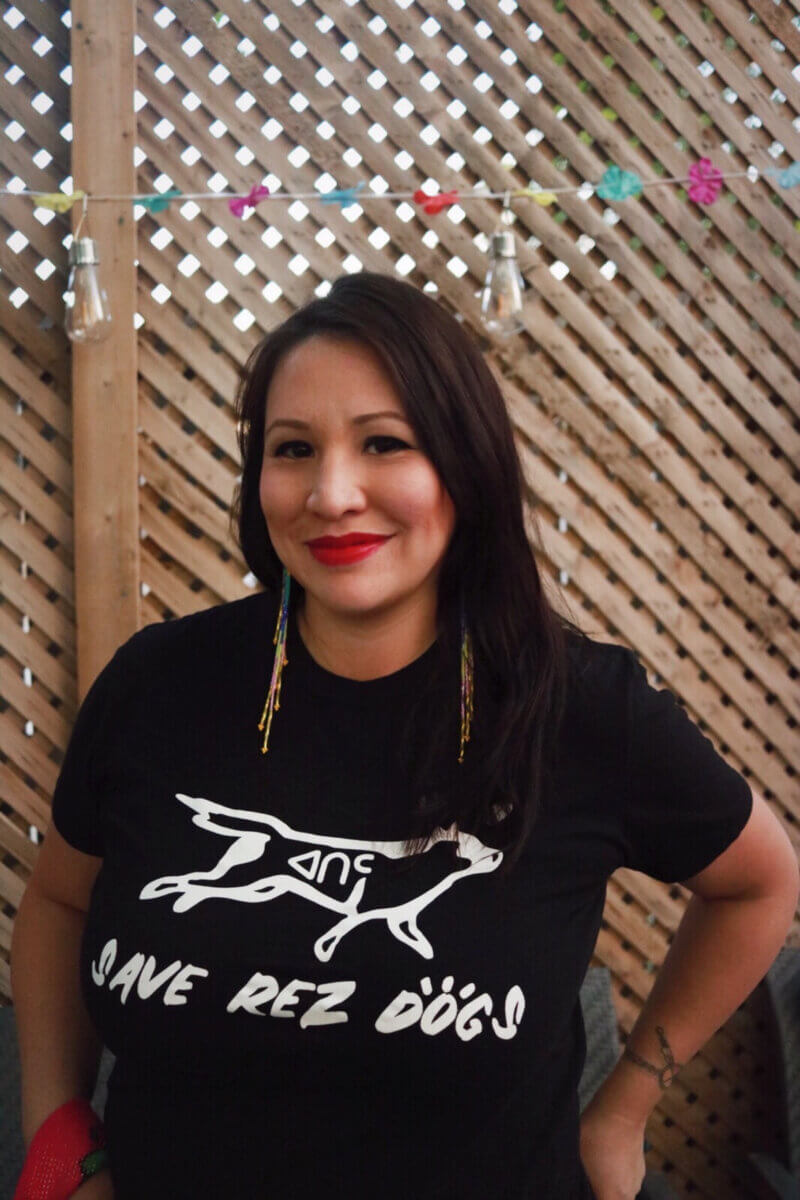 Save Rez Dogs founder, Leah Arcand