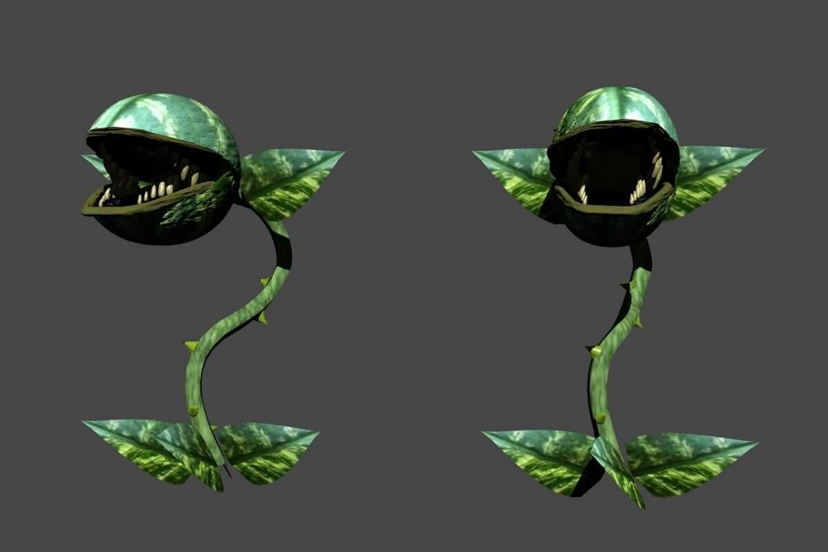 2 scary green plants in summer 2021 zilker musical, little shop of horrors