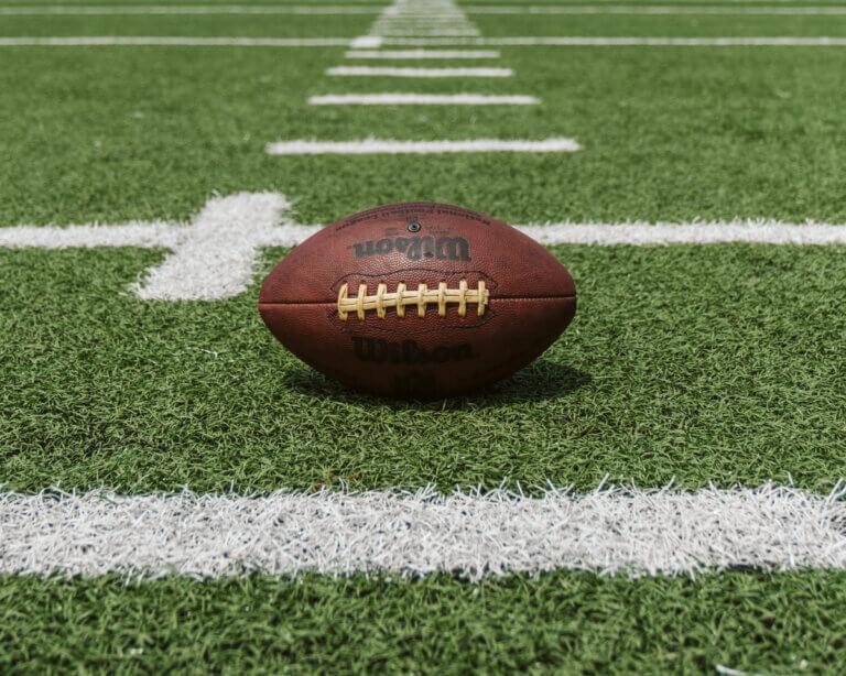football on turf ready for NFL season 2021