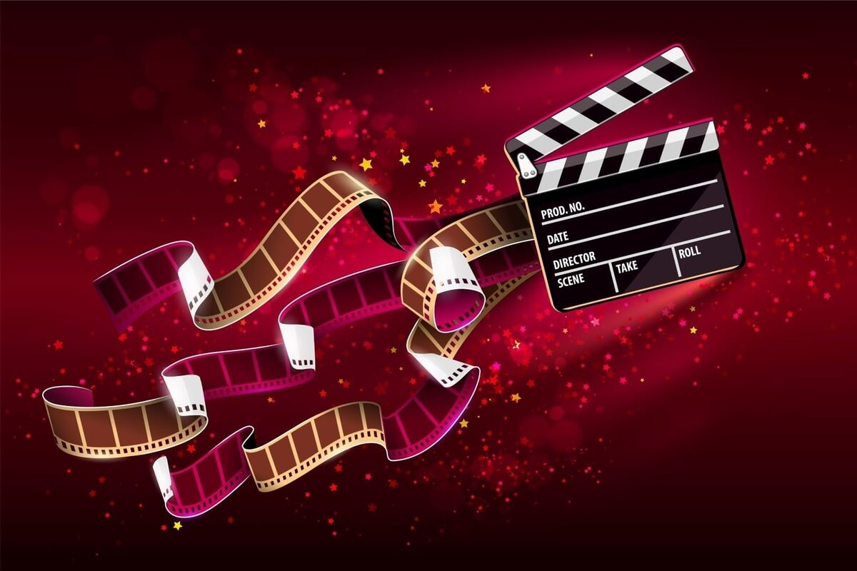 reels and director board for regina international film festival