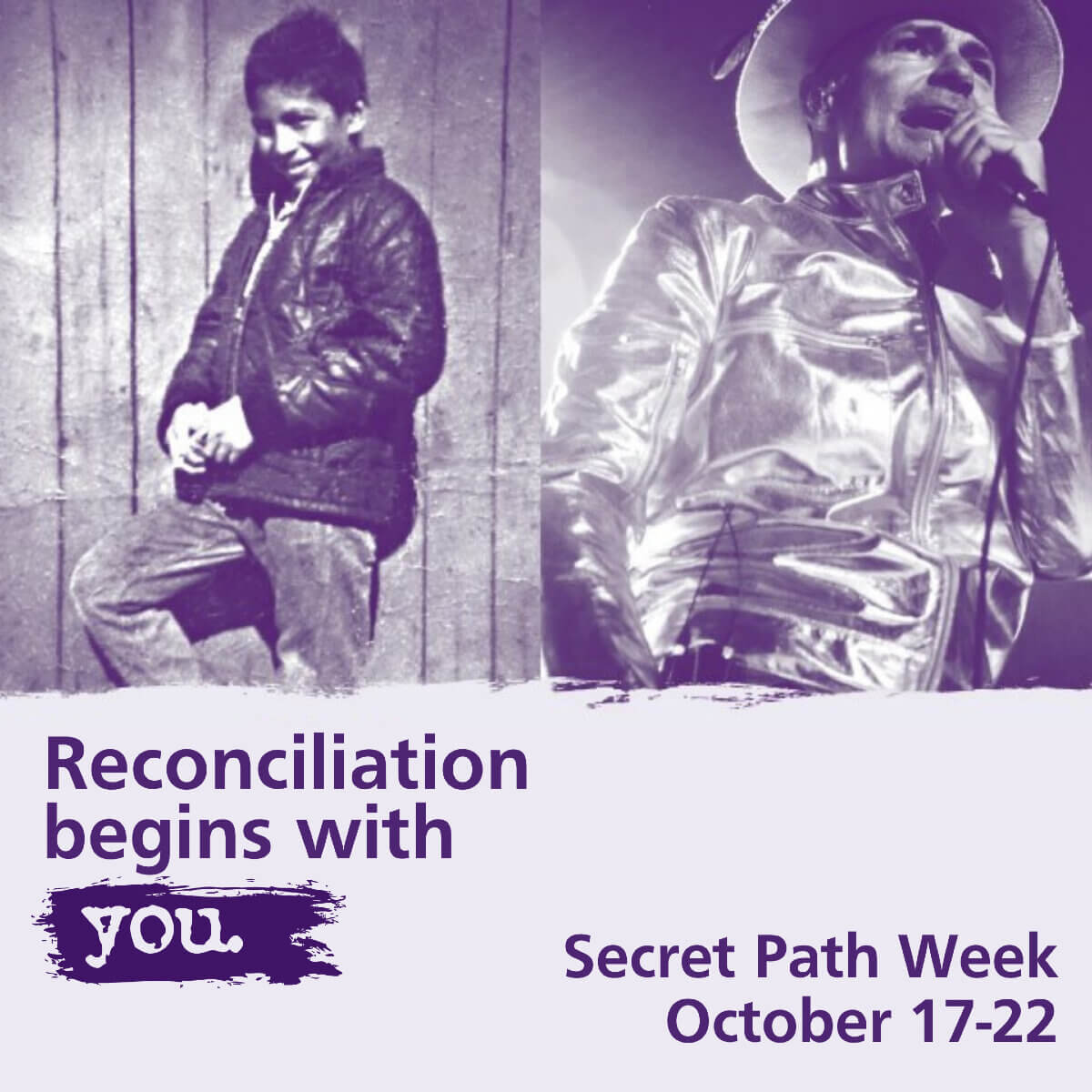 Reconciliation begins with you, Gord Downie and the Chanie Wenjack Fund