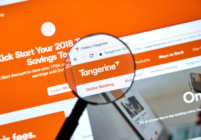 Tangerine is one of four great online banks for millennials looking to save money.