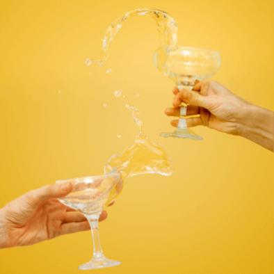 Advertiser - Wine glass